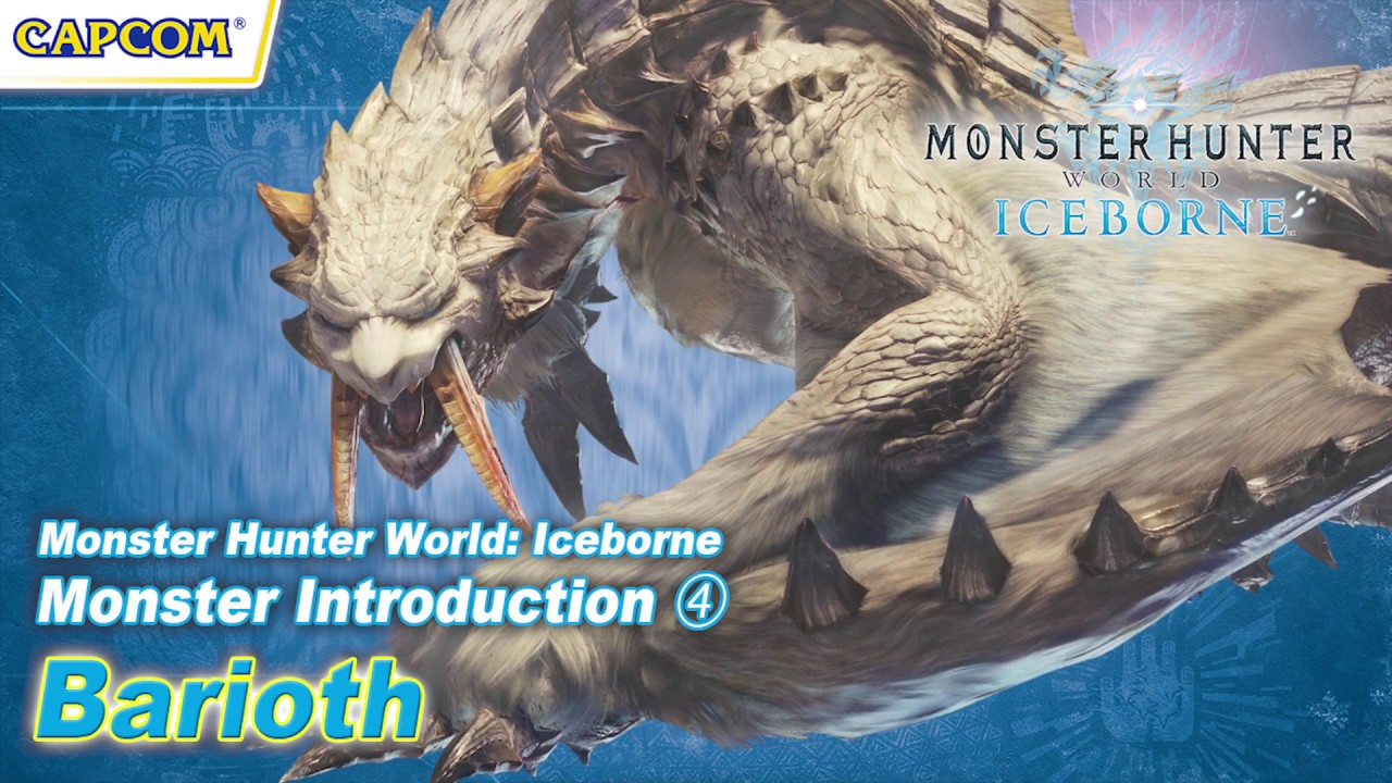 Monster Hunter World Iceborne Expansion Barioth Trailer Gematsu