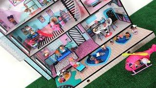 LOL doll Nova Casa!!! Totoykids fazendo festa na Casa nova da Boneca LoL!!!
