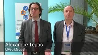 Interview de Philippe LEGER, SFFPC et Alexandre TEPAS, URGO, lors de CATEL VISIO 2018