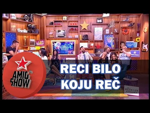 Reci Bilo Koju Reč - Ami G Show S10 - E35