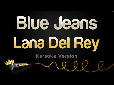 Lana Del Rey - Blue Jeans (Karaoke Version)