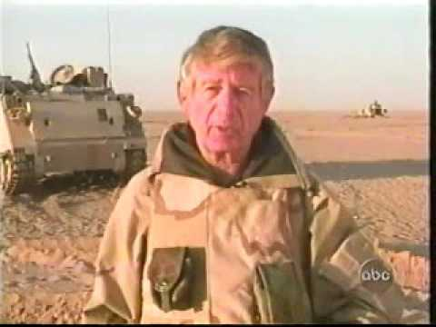 1-41 Field Artillery 3ID OIF Invasion Video ABC News Program March 27 2003