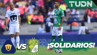 Pumas y León muestran su solidaridad con el plantel de Veracruz | TUDN