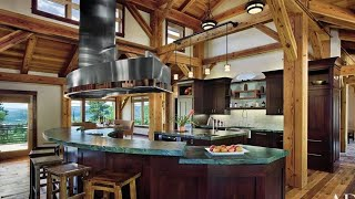 80 Amazing Rustic Kitchen Decor Ideas | Best Rustic Wood Kitchen Log Decorating Ideas