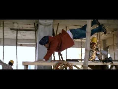 Aadhavan Stunt Scene by