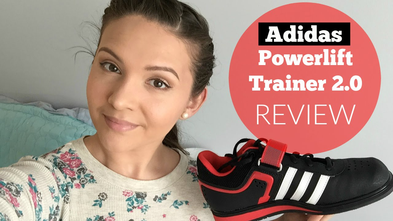 convertible Hacer amante  Squat Shoe Review | Adidas Powerlift Trainer 2.0 Review & Demo - YouTube