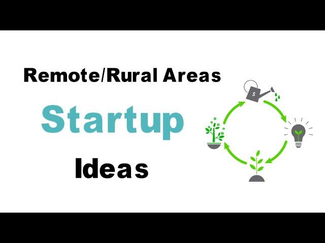Rural Startup Ideas   Small Business Ideas   Unique Startups