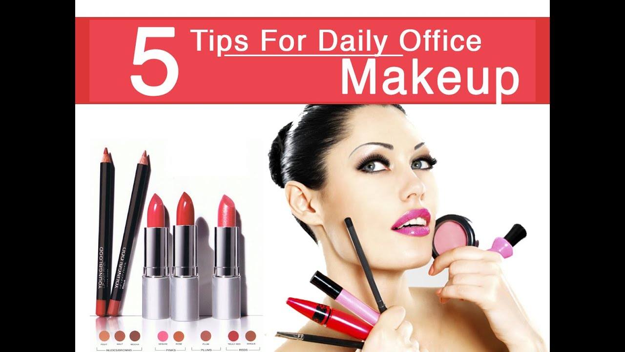 5 Tips For Daily Office Make-up - Dr. Amee Daxini - YouTube