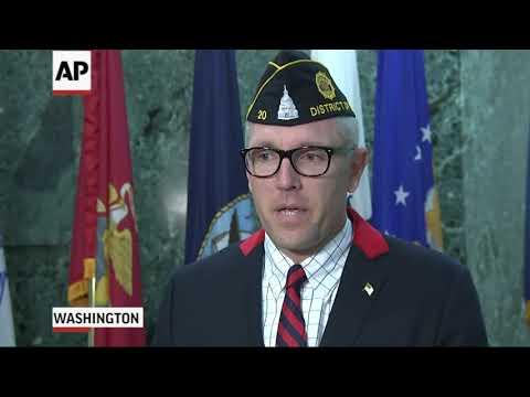 Associated Press: Veteran's Org. Happy Trump Parade Postponed