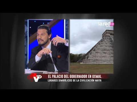 Lugares simbólicos de la civilización Maya: El palacio del gobernador en Uxmal