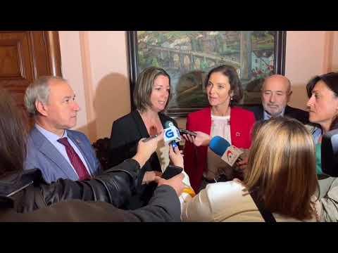 Maroto llama a implicarse para que el casco histórico de Lugo sea patrimonio mundial