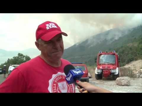 Crna Gora - Požar 16.07.2017.
