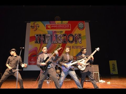 Dil Chahta Hai (Rock Version) by Antariksh Live at IIM Rohtak (Infusion 2014)