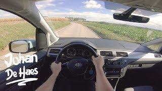 VW Caddy Maxi 2.0 TDI 150 hp POV TEST DRIVE