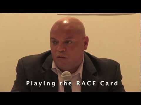 Laura Pressley, The Race Card By Mike Martinez