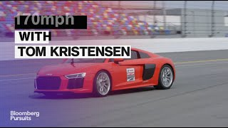Driving the Audi R8 With 9-Time Le Mans Winner Tom Kristensen