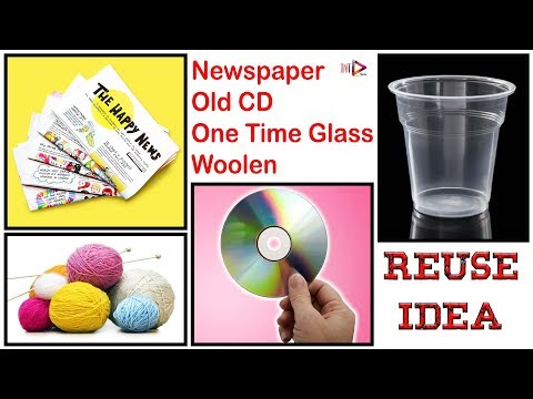 How To Make A Home Decoration Showpiece Out of Waste Materials | Waste out of Best Room Decor Idea