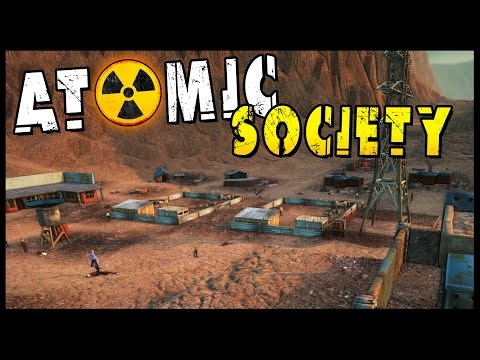 Atomic Society - Fallout Shelter Post Apocalyptic City Ruler [Atomic Society Gameplay]