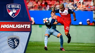 FC Dallas Vs. Sporting Kansas City  FC Dallas Fight For A Playoff Spot  H GHL GHTS