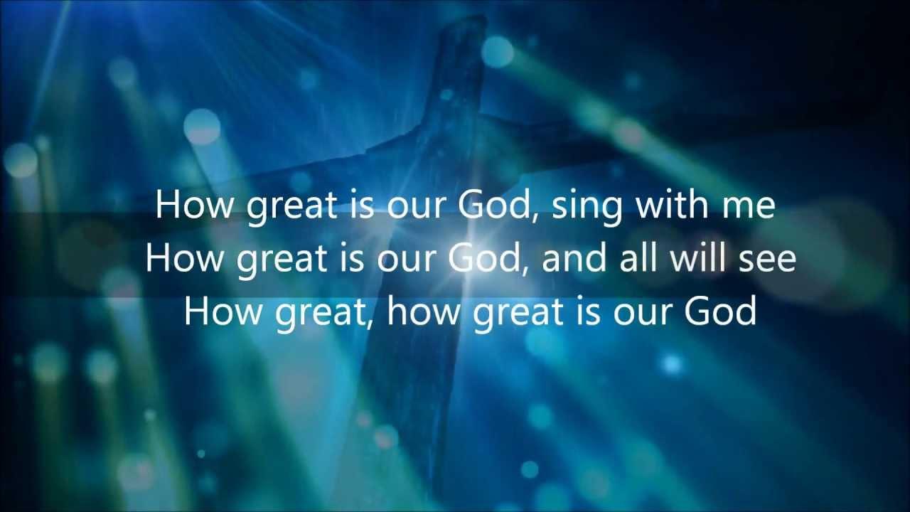 عظيم يا رب - How great is our God in Arabic & English ...  |How Great Is Our God Lyrics