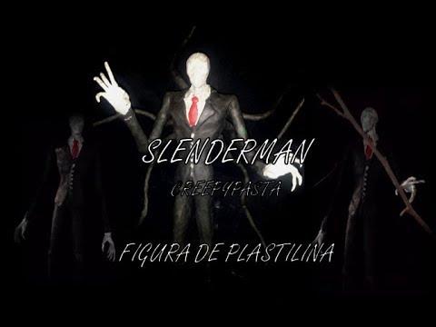 Slenderman Creepypasta - Figura De Plastilina