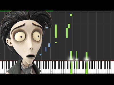 Victor's Piano Solo - Corpse Bride [Piano Tutorial] (Synthesia) // The Wild Conductor