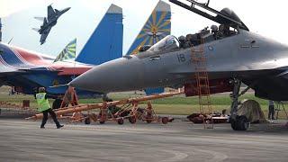 SU-30 MKM DISPLAY,  AIRSHOW LIMA 2017 LANGKAWI, MALAISIE