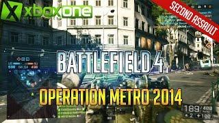 "Battlefield 4 ""Operation Metro 2014"" Xbox One Multiplayer Gameplay HD 1080p"