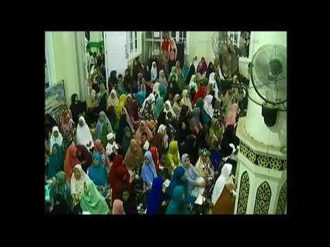 Sholawat Zainal Ambiya' Qori Ipqoh Provinsi Jambi di Masjid Baitul Mukminin sebelum acara
