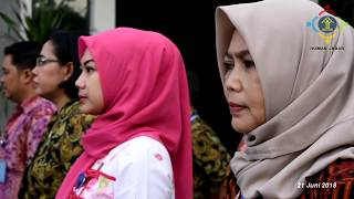 Apel Perdana & halal bihalal | Kanwil Kemenkumham Jawa Barat