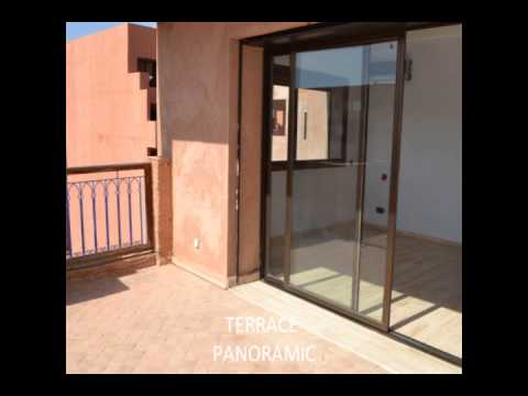 MARRAKESH APARTMENT GUELIZ 1 000 000 DHS TERRACE SWIMMING POOL