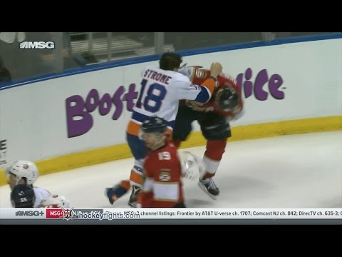 Ryan Strome vs Jussi Jokinen Jan 13, 2017