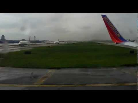 Southwest Airlines Takeoff from Detroit