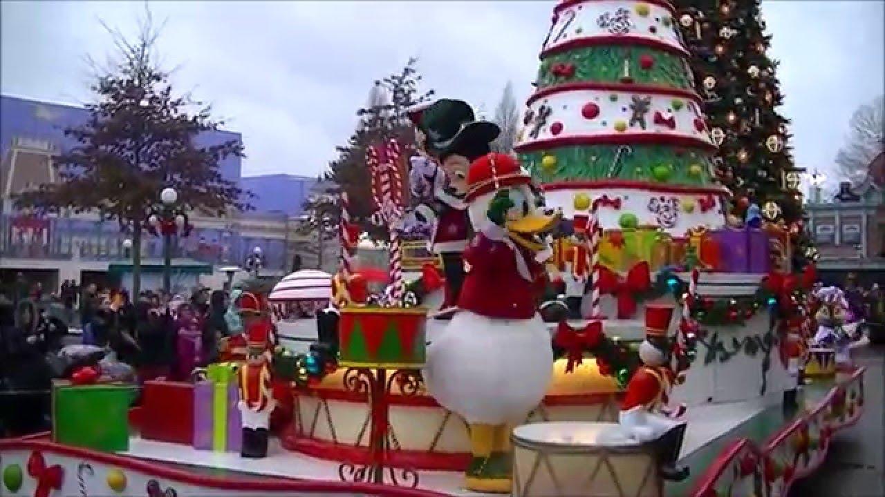 disney 39 s christmas parade disneyland paris january 3 2016 youtube. Black Bedroom Furniture Sets. Home Design Ideas