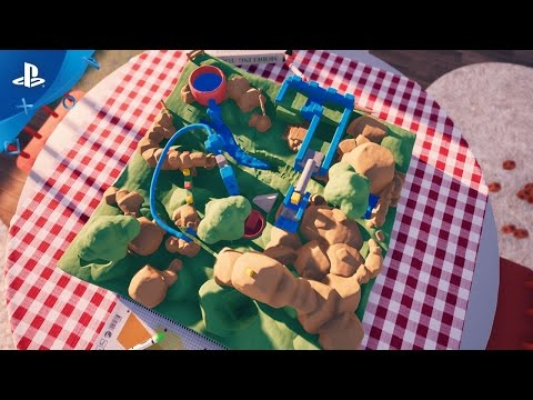 Claybook - Announcement Trailer | PS4