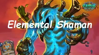 Hearthstone: Elemental Shaman #1: Rastakhan's Rumble - Standard Constructed Post-Nerf