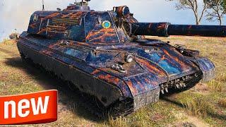 114 SP2 - NËW TIER 10 TANK DESTROYER - World of Tanks