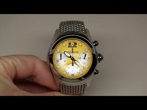 Corum Bubble XL Chronograph Men's Watch Review Model: 28515020/B100