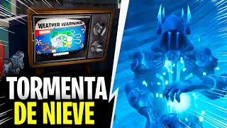 EVENTO TORMENTA DE NIEVE YA!!! (FORTNITE TEMPORADA 7)