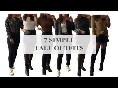[VIDEO] - 7 Fall Outfits Ideas   HOW TO STYLE FALL OUTFITS   Women's Style 5