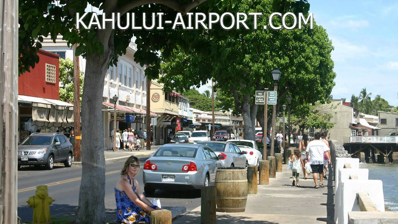 how to get from maui airport to kuhai