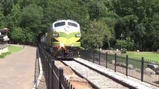 Stone Mountain Scenic Railroad at Stone Mountain