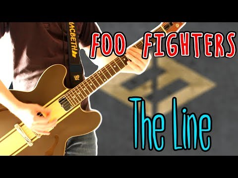 Foo Fighters - The Line Guitar Cover