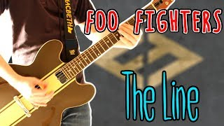 Foo Fighters The Line Guitar Cover