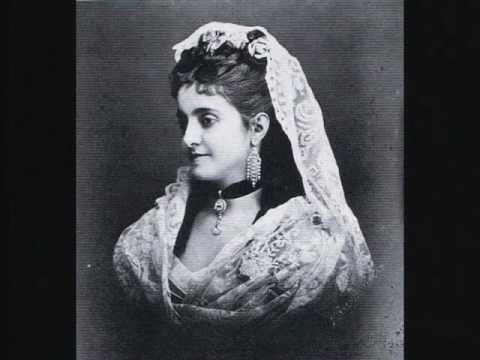 Opera singer soprano Adelina Patti