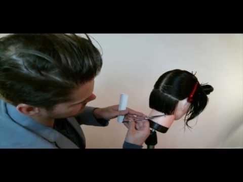 How to Cut a Bob (Graduation Haircut) HairCutting FUNdamentals LIVE WEB CLASS