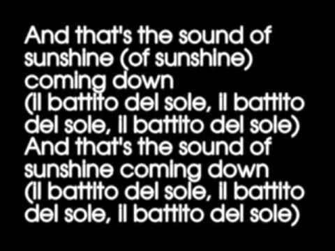 Michael Franti feat  Jovanotti - The Sound Of Sunshine