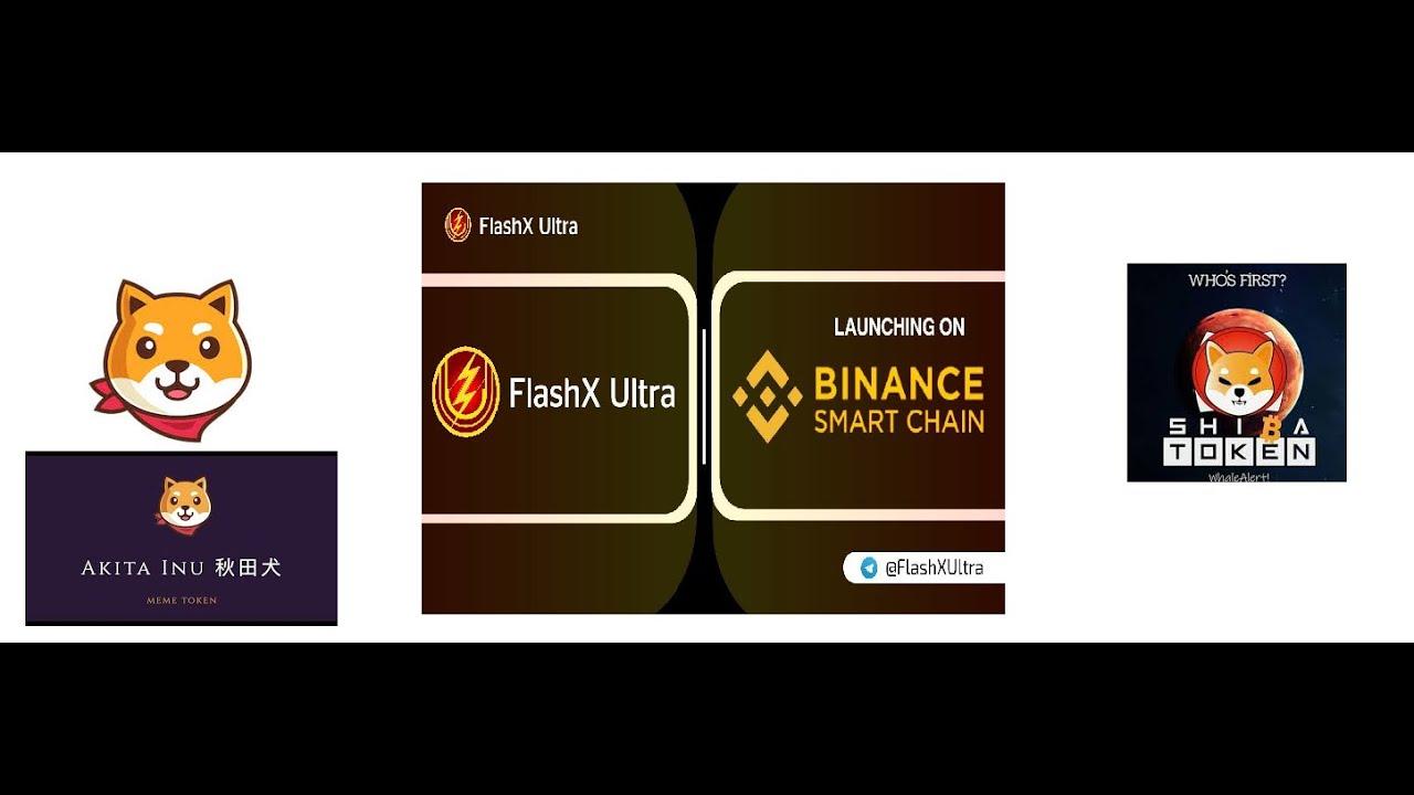 FlashX Ultra token / Shiba token / Akita Token