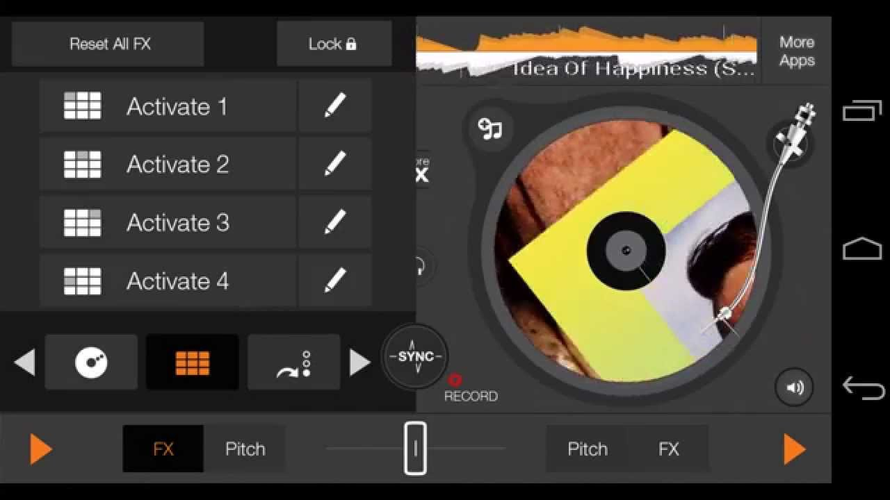 edjing DJ app for Android: How to record and share?