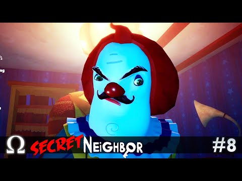this-neighbor-doesn't-clown-around!-|-secret-neighbor-#8-multiplayer-w/-friends!
